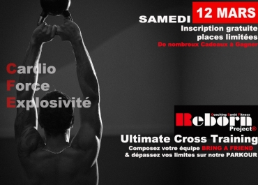 Ultimate Cross Training - Samedi 12 mars 2016 à Atlanthal