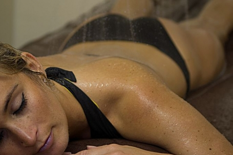 Massage sous affusion (relaxant)
