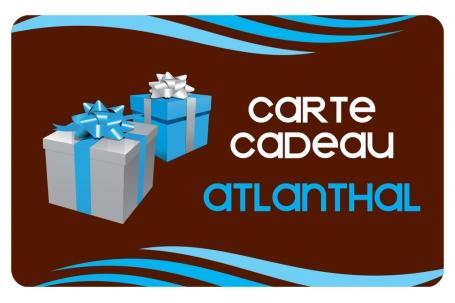 Carte cadeau Atlanthal 100 €